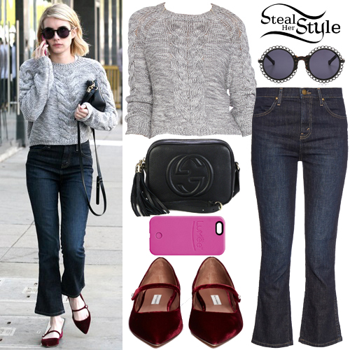 Emma Roberts out and about in Los Angeles. January 15th, 2016 - photo: AKM-GSI