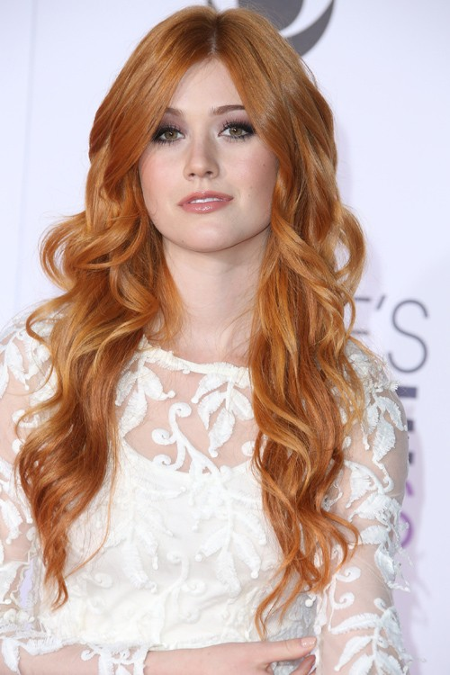 Katherine Mcnamara Natural Hair Color