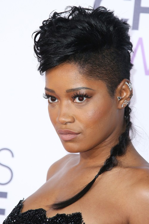 Enjoyable 37 Celebrity Mohawk Hairstyles Steal Her Style Hairstyle Inspiration Daily Dogsangcom