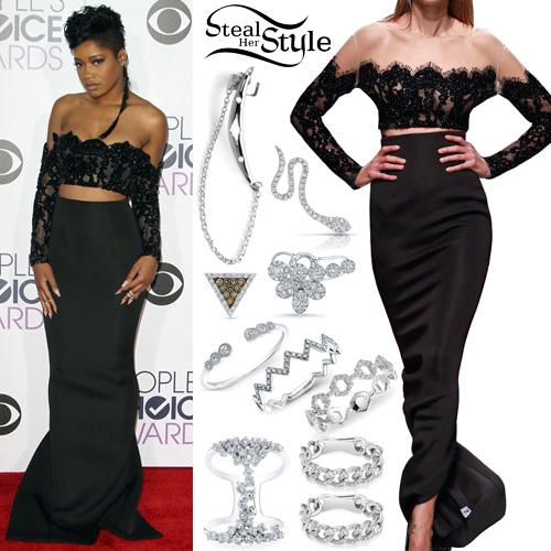 Keke Palmer at the People's Choice Awards in Los Angeles. January 6th, 2016 - photo: PacificCoastNews