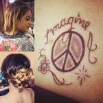Martina Stoessel Tattoos