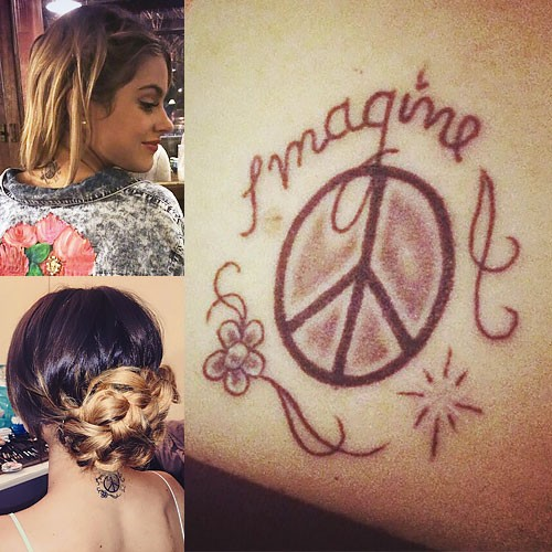 Martina stoessel tattoos amp meanings steal her style