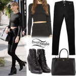 Taylor Swift shopping at Reformation on Melrose Ave. January 15th, 2015 - photo: PacificCoastNews