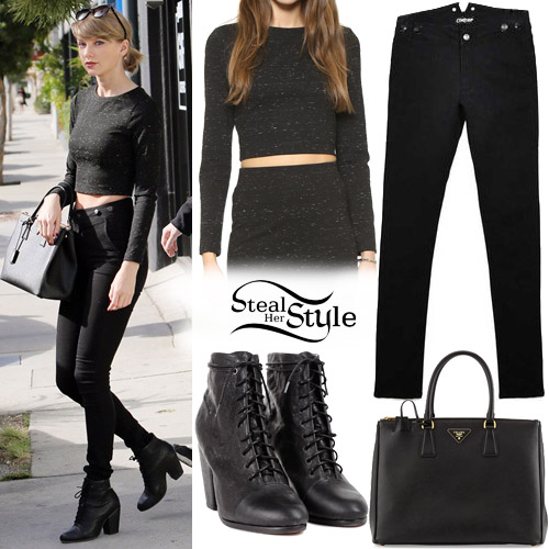 Taylor Swift shopping at Reformation on Melrose Ave. January 15th, 2016 - photo: PacificCoastNews