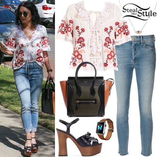 Vanessa Hudgens Clothes Outfits Steal Her Style