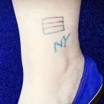 Alexa Chung Tattoos