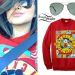 Becky G: Mickey Mouse Sweatshirt