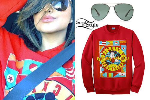 Becky G: Mickey Mouse Sweatshirt
