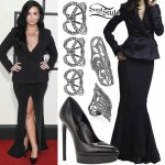 Demi Lovato: 2016 Grammys Outfit