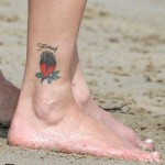 Heather Locklear Tattoos