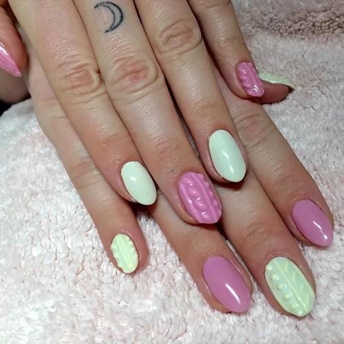 Kesha Light Pink, White Flowers, Foil Stripes, Jewels