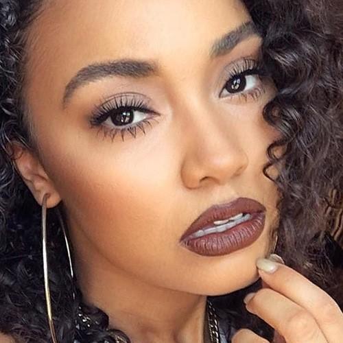 leighanne pinnock makeup black eyeshadow taupe