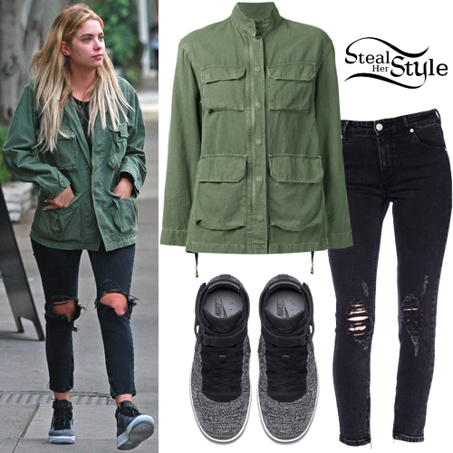 Ashley Benson out and about in West Hollywood. March 3rd, 2016 - photo: FameFlynet