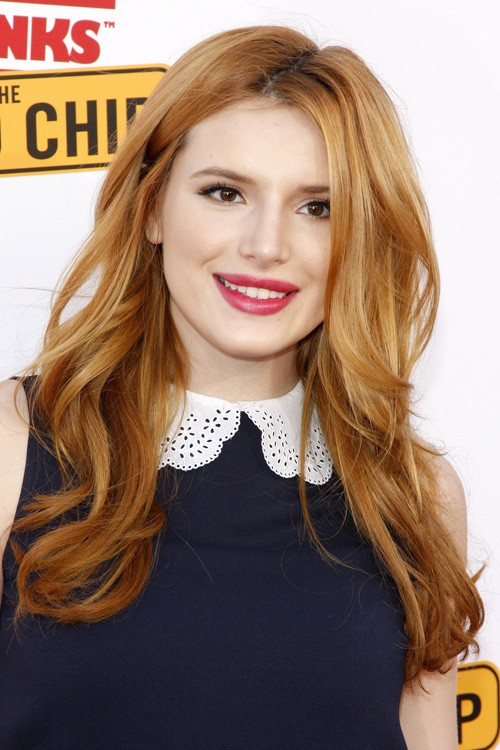 Bella Thorne Wavy Ginger Loose Waves Hairstyle Steal Her
