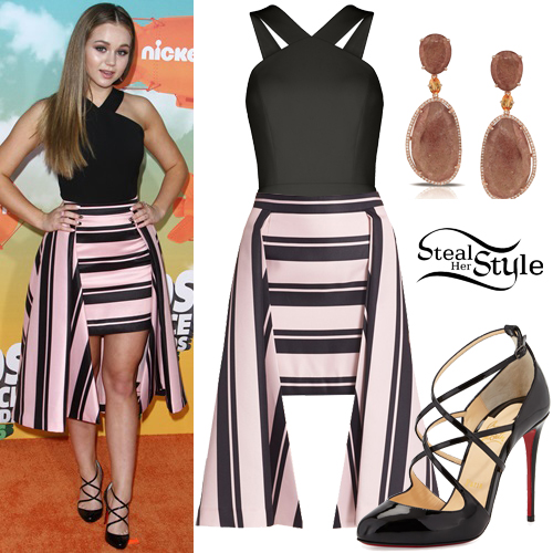 Brec Bassinger at the Kids' Choice Awards at The Forum. March 12th, 2016 - photo: FameFlynet