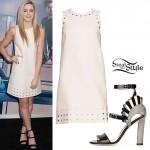 Chloe Lukasiak: Studded Shift Dress