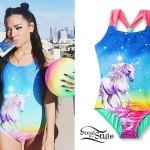 Gabriella DeMartino: Unicorn Swimsuit