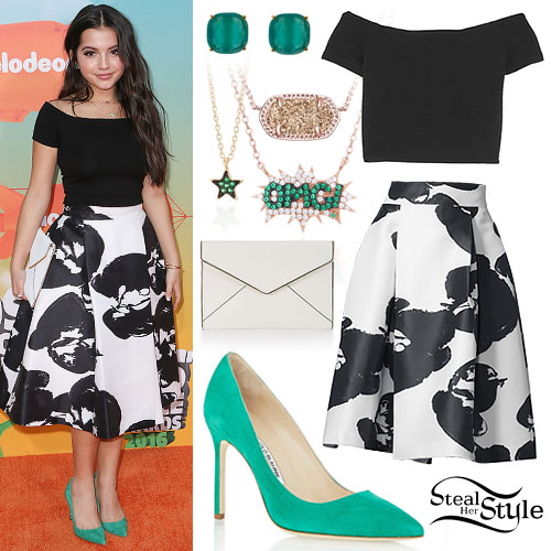 Isabela Moner: 2016 Kids Choice Awards Outfit