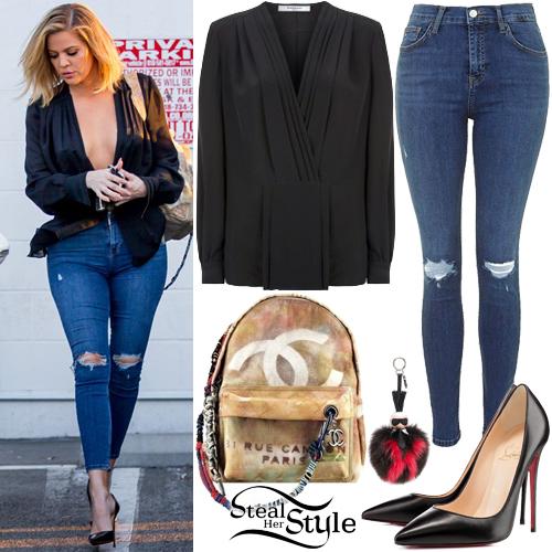 Khloe Kardashian leaving a studio in Los Angeles. March 1st, 2016 - photo: PacificCoastNews