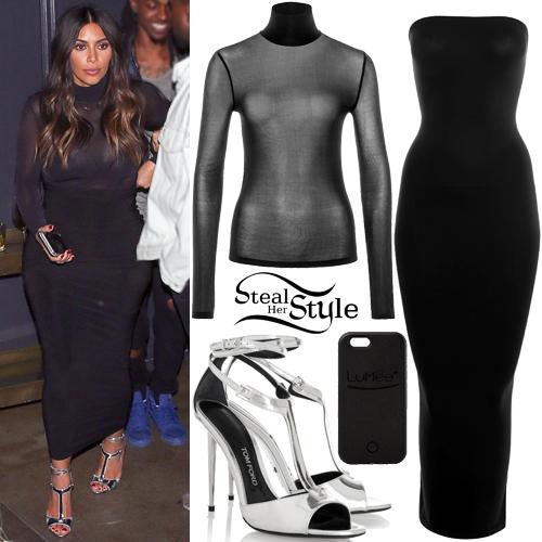 Kim Kardashian leaving Warwick Night Club in Hollywood. March 23th, 2016 - photo: AKM-GSI