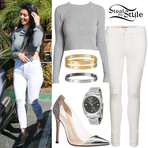 Kourtney Kardashian Clothes Outfits Page 2 Of 3 Steal Her Style Page 2