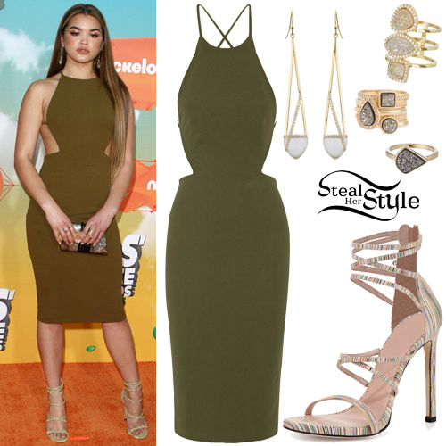 Paris Berelc at the Kids' Choice Awards at The Forum. March 12th, 2016 - photo: FameFlynet
