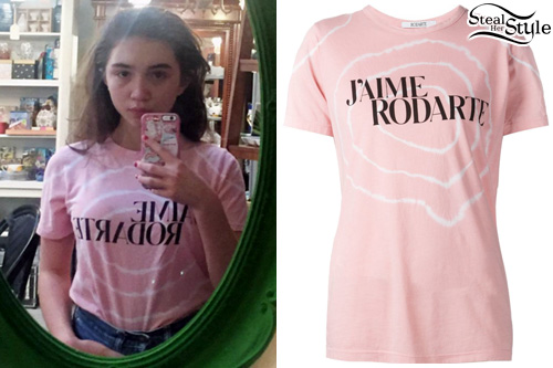 photo posted by Rowan Blanchard on instagram