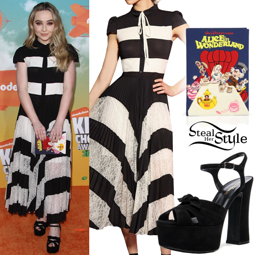 Sabrina Carpenter at the Kids' Choice Awards at The Forum. March 12th, 2016 - photo: FameFlynet