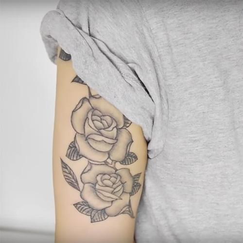 Cardi B Tattoos Arm: Samantha Maria Rose Tattoo