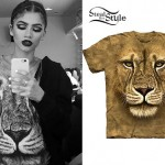 Zendaya: Lion Face T-Shirt