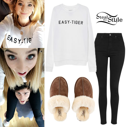 Zoella: 'Easy Tiger' Sweatshirt