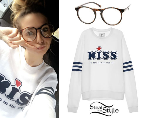 Zoella: Kiss Sweatshirt, Tortoise Readers
