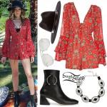Eleanor Calder: Coachella Day 2 Outfit