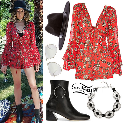 Eleanor Calder: Coachella Day 2 Outfit