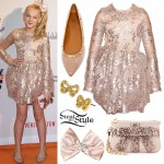 JoJo Siwa: Blush Sequin Dress