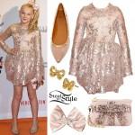 JoJo Siwa: Blush Sequin Dress