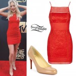 Jordyn Jones: 2016 MTV Movie Awards Outfit