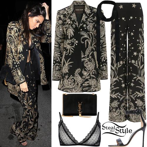 Kendall Jenner arriving at The Nice Guy. April 28th, 2016 - photo: FameFlynet