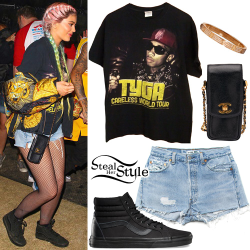 Tyga style clothes