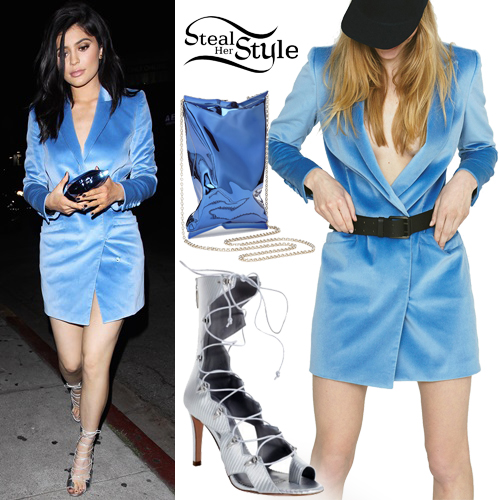 Kylie Jenner arriving at The Nice Guy in West Hollywood. April 11th, 2016 - photo: AKM-GSI