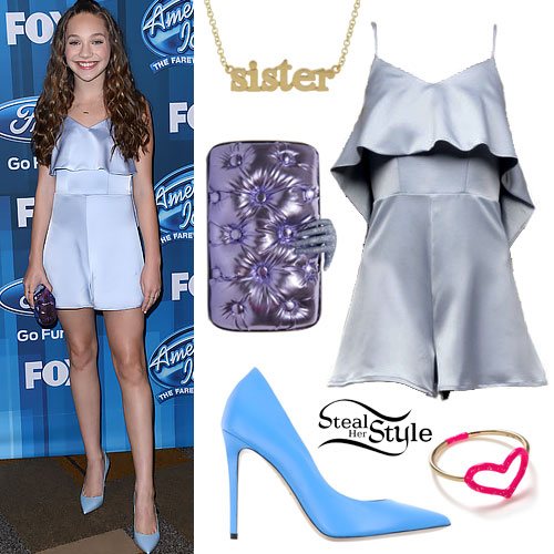 Maddie Ziegler Clothes Amp Outfits Steal Her Style