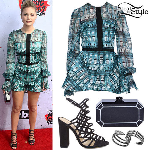 Olivia Holt: 2016 iHeartRadio Music Awards Outfit