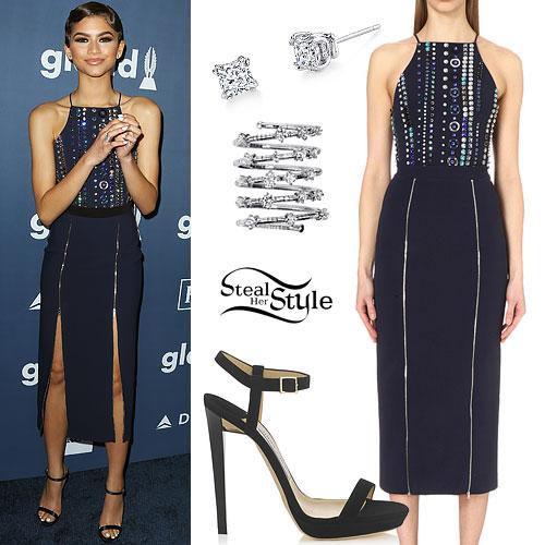 Zendaya: 2016 GLAAD Awards Outfit