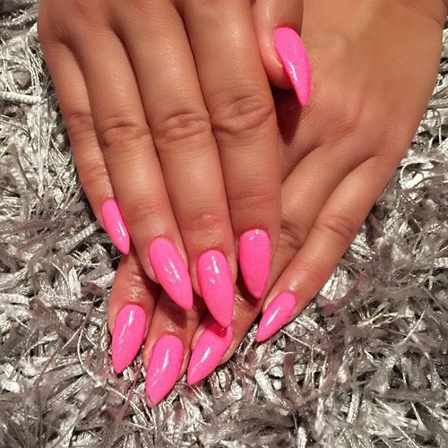 Keeppy :: The Coolest Celeb Nail Looks and Designs! |Stiletto Nails Amber Rose