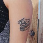 Awkwafina Tattoos