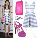 G. Hannelius: 2016 Young Hollywood Outfit
