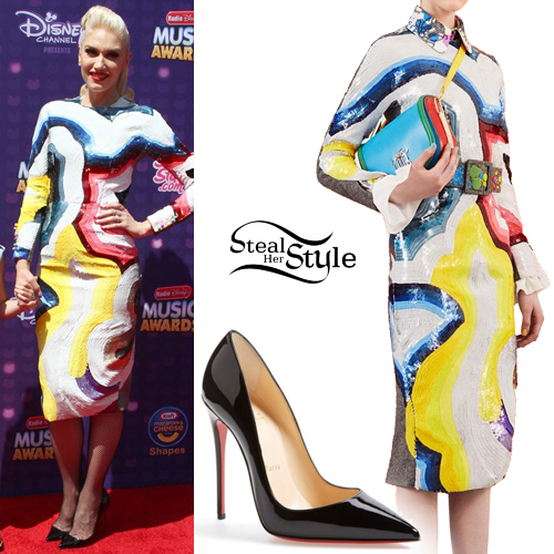 Gwen Stefani attends The 2016 Radio Disney Music Awards in Los Angeles. April 30th, 2016 - PacificCoastNews