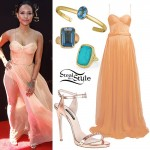 Karrueche Tran: 2016 Daytime Emmys Outfit