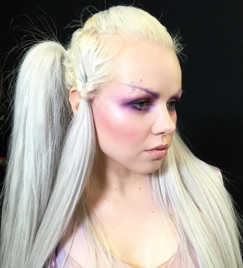 Kerli S Hairstyles Amp Hair Colors Steal Her Style