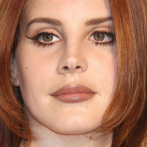 Lana Del Rey Makeup Black Eyeshadow Brown Eyeshadow